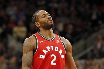 Twitter Reacts To Alleged Video Of Kawhi Leonard Making It Rain In Strip Club