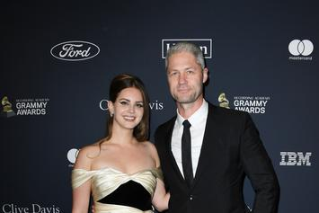 Lana Del Rey & Boyfriend Sean Larkin Make Public Debut As Couple At Pre-Grammys Gala