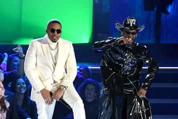 "Nas Meets Lil Nas X On The Grammy Stage For ""Rodeo"" Performance"