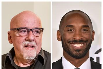 """The Alchemist"" Author, Paulo Coelho, Scraps Draft Of Book Co-Written By Kobe Bryant"