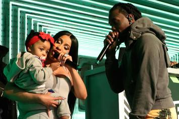 "Cardi B & Offset's Daughter Kulture Flexes Her Vocal Skills While Singing To ""Moana"""