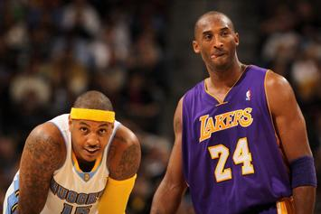 Carmelo Anthony Recalls Final Conversations With Kobe Bryant