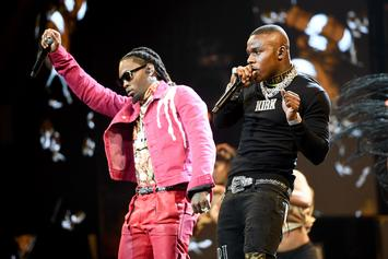DaBaby Teases New Song With Offset While Dancing With Baby Mama's Son