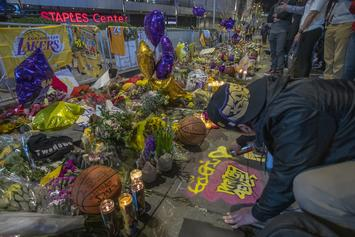 Vanessa Bryant Will Receive Tribute Items Left Outside Of Staples Center