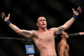 "UFC's Colby Covington Vows To Fight 50 Cent One-Handed: ""I'll Put $1M On It"""