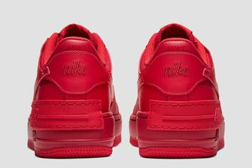 "Nike Air Force 1 Low Receives ""Red October"" Makeover: Official Photos"