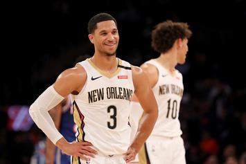 Josh Hart Hilariously Left Hanging By Zion, Leads To Yet Another Meme