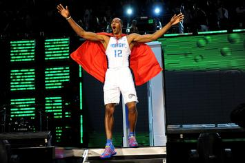 Dwight Howard Hints At Kobe Bryant Tribute During Dunk Contest