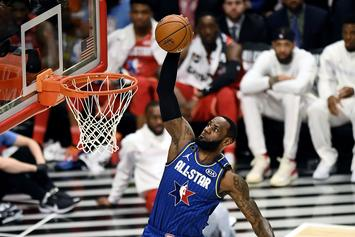 LeBron James Shows Off Star-Studded Action Shot From The All-Star Game