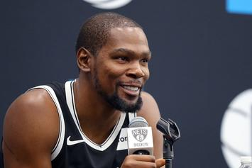 Kevin Durant Shows Support For Marijuana Use