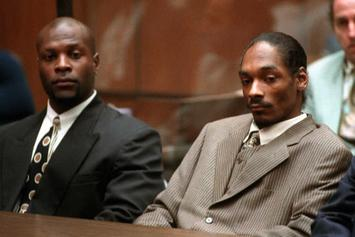 "Snoop Dogg Beat Murder Case ""24 Years Ago Today"""