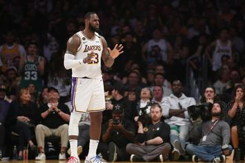 LeBron James Marvels Over Incredibly Realistic Tattoo Of Himself