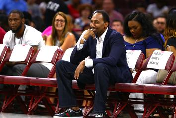 Stephen A. Smith Takes A Side In The James Harden Vs Giannis Beef