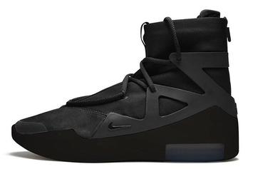 "Nike Air Fear Of God 1 Coming Soon In Stealth ""Triple Black"""