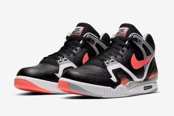 "Nike Air Tech Challenge II ""Black Lava"" Release Announced"