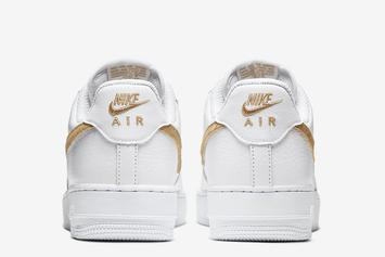 Nike Adds Hairy Swooshes To The Air Force 1 Low: Photos