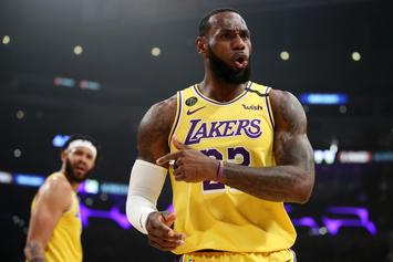 LeBron James Gets Braggadocios After Bevy Of Highlights