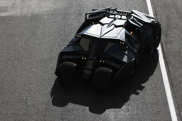 Batman's New Batmobile Is Sick