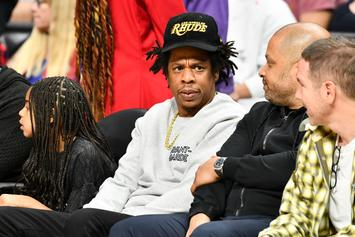Jay-Z Curves Unwanted Contact At Lakers Game