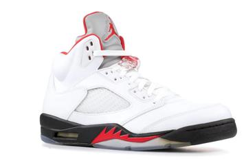 "Air Jordan 5 ""Fire Red"" Returns This Month: New Details"