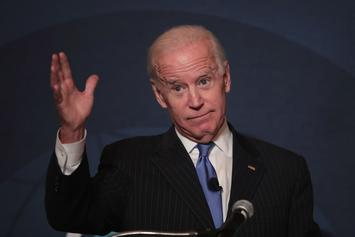 "Joe Biden Tells Worker He's ""Full Of Sh*t"" Over Stick Talk"