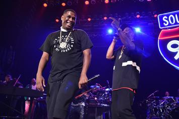 Jay-Z & Jay Electronica Lock In With Young Guru In The Studio