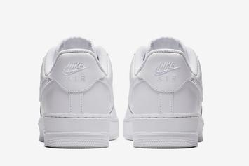 """Nike Air Force 1 Low """"Triple-White"""" Returning For Spring: Photos"""
