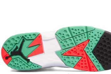 "Air Jordan 7 ""Hare"" Nods To Bugs Bunny: First Look"