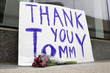 Tom Brady Receives Epic Send-Off In New England