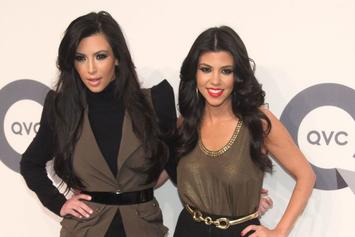 Kim Kardashian & Sister Kourtney Throw Hands In Reality TV Fight
