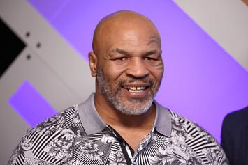 "Mike Tyson Channels Joe Exotic With ""Tiger King"" Throwback"