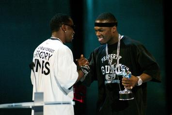50 Cent Clowns Kevin Hart & Diddy For Grey Hair