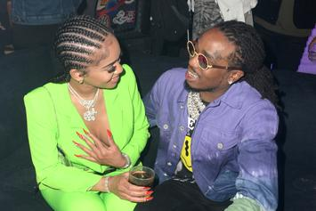Saweetie Straddles Quavo In Adorable Birthday Post