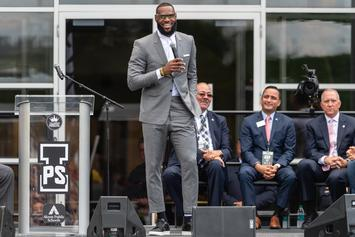 "LeBron James Drops Trailer For Uplifting ""I Promise"" Documentary"