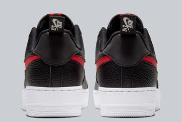 "Nike Air Force 1 Low Receives ""Bred"" Makeover: Photos"