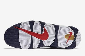 "Nike Air More Uptempo ""Olympic"" Returning Soon: Photos"