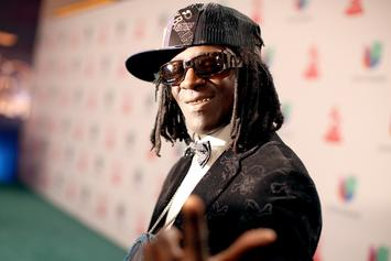 Flavor Flav Merch Being Sold By Baby Mama To Help Take Care Of Son