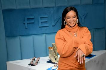"Rihanna Hosting Virtual ""Fenty Social Club"" Party On IG Live"