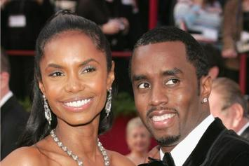 """Diddy Calls Kim Porter """"The One"""" As He Reveals Rose Garden Monument"""