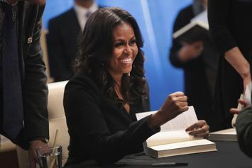 "Michelle Obama Earns $36 Million For ""Becoming"" Memoir"