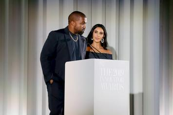 "Kanye West & Kim Kardashian Reportedly ""Arguing A Lot"" In Quarantine"