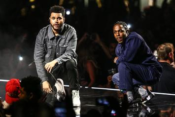 """The Weeknd Denies That He & Kendrick Lamar Used Illegal Sample On """"Pray For Me"""""""