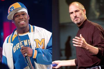 """50 Cent Says He Got $150K From Steve Jobs For iPod Placement In """"P.I.M.P"""" Video"""
