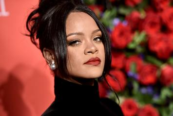 Rihanna Poses In Lingerie For Savage x Fenty Anniversary