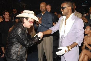 """Kanye West's """"Black Skinhead"""" Is One Of Bono's """"Songs That Saved My Life"""""""