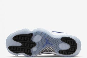 "Air Jordan 11 Low ""Concord"" Release Date Revealed: Photos"