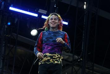 6ix9ine Shows Off Ankle Monitor While Teasing New Music Video