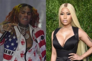 6ix9ine's New Song May Feature Nicki Minaj: Report