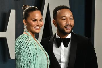 Chrissy Teigen Leaks John Legend's New Album & He Doesn't Mind