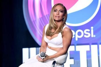 Jennifer Lopez Clarifies Creepy Man's Identity In Workout Selfie